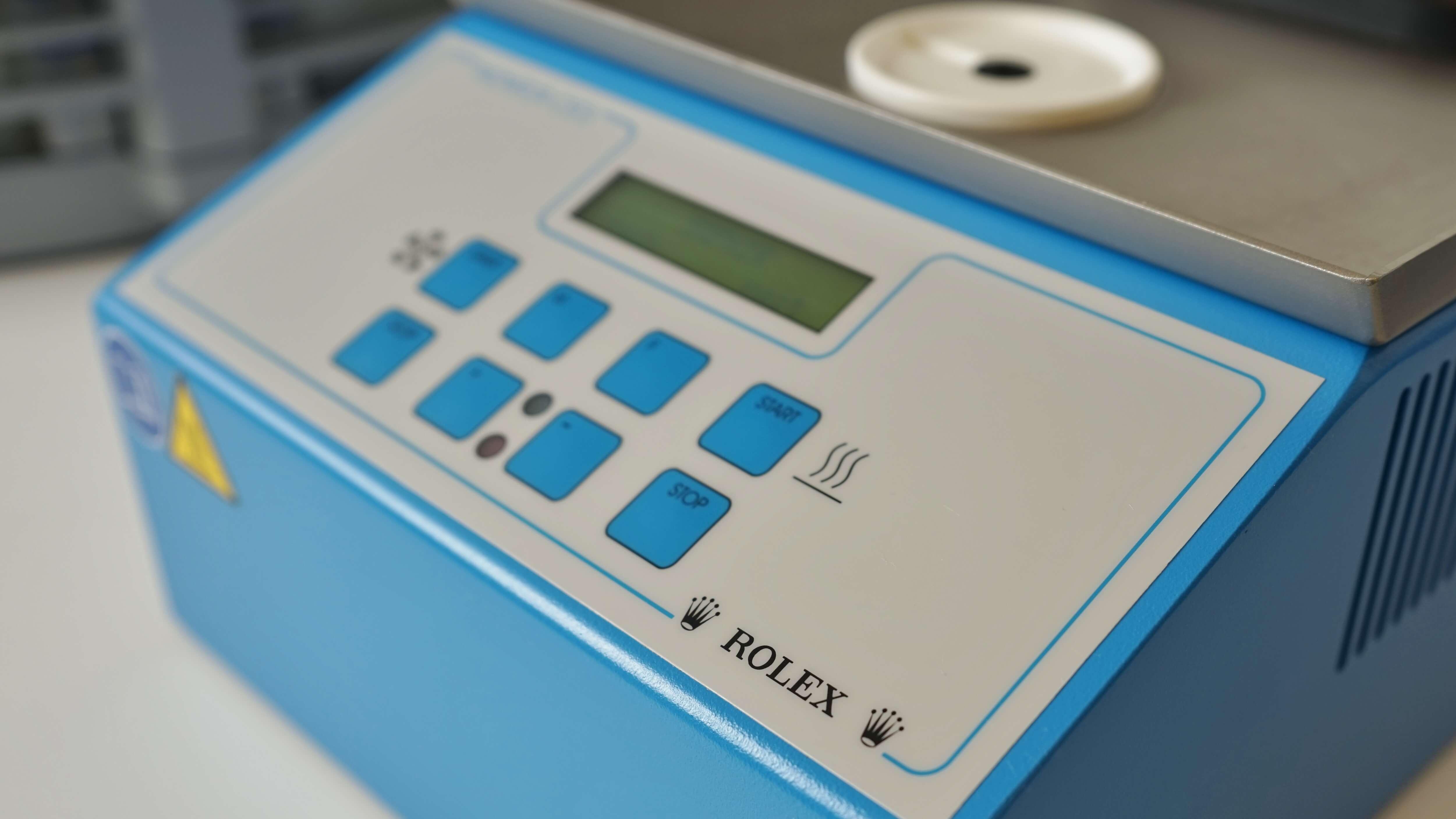 Rolex condensation tester